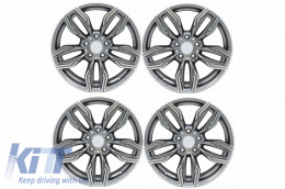 Alloy Wheels suitable for BMW R18 Inch 5x120 Mod New GR Coupe Anthracite - AW761R18