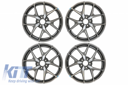 Alloy Wheels suitable for MERCEDES Benz R18 Inch 5x112 Mod 507 Edition Gun Grey - AW8M15MBR18