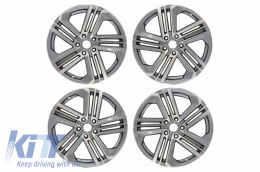 Alloy Wheels  suitable for VW Audi R18 Inch 5x112 Mod R400 Anthracite - AW8524005R18