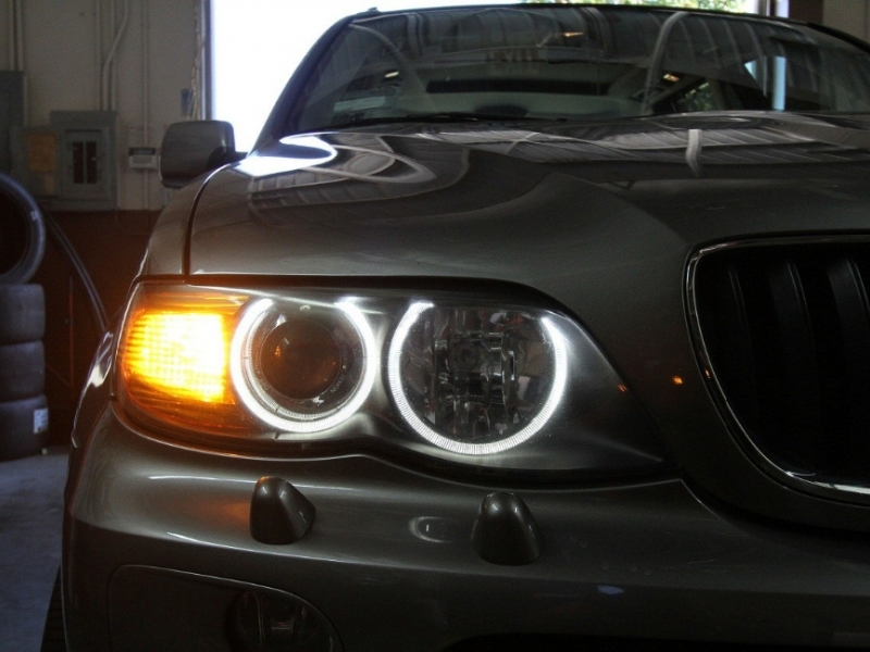 Angel Eyes Kit Suitable For Bmw X5 E53 2000 2006