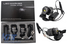 Angel Eyes Led Marker 20W CREE suitable for BMW E90/91 pre-LCI (2005-2008) - NS-E90-20W-C