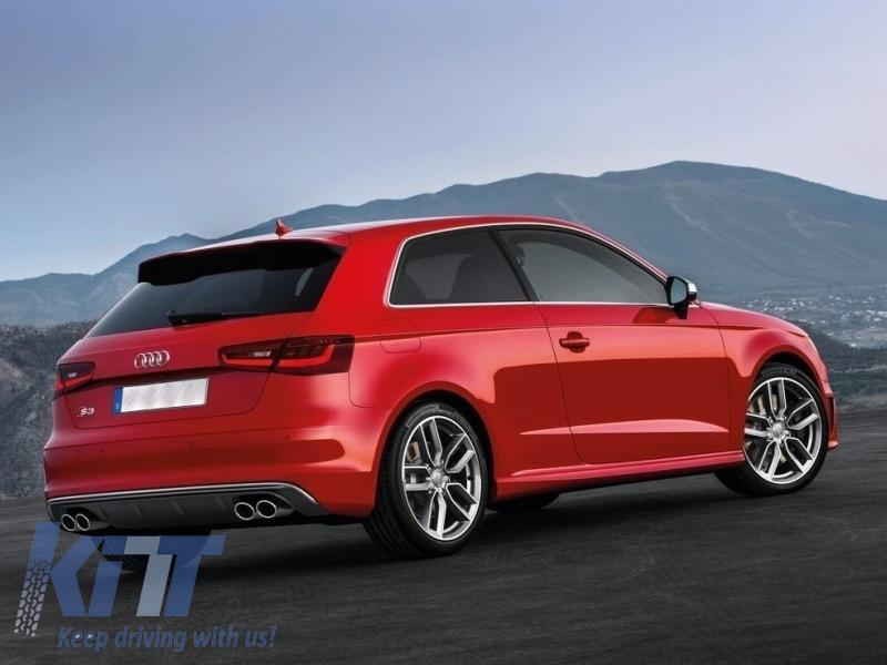 Audi A3 8v Hatchback 2012 2015 Rear Bumper Valance