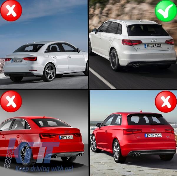 Audi A3 8v Hatchback Sportback  2012