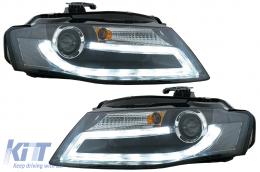 Audi A4 B8 8K 08-11 LED Daytime Running Light Headlights Facelift Light Bar Xenon Design - SWA16SLGXB/1018685