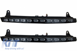 Audi Q7 4L (2006-2009) LED DRL Daytime Running Lights +Turning Lights OEM Facelift Design - AUQ7DRL