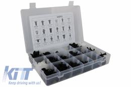 Auto Clips Plastic fasteners Kit 415 pcs - UNIVERSALCLIPS415