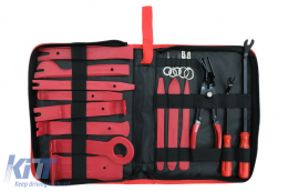 Auto Trim Removal Tool Kit 19 PCS Portable Zipper Bag - CARPANELRMV