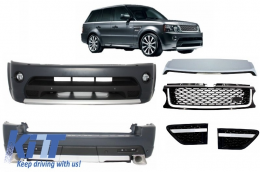 Autobiography Design Body Kit Range Rover Sport Facelift 2009-2013 L320 Black Edition - COCBRRSFLB