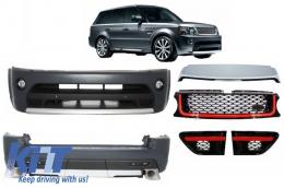 Autobiography Design Body Kit Range Rover Sport Facelift 2009-2013 L320 Black / Red Edition - COCBRRSFLRB