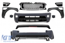 Autobiography Design Body Kit suitable for Range ROVER Sport Facelift 2005-2013 L320 Black Edition - COCBRRSFLFFB