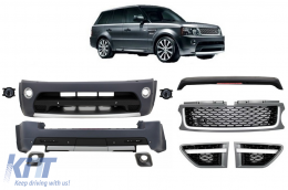 Autobiography Design Body Kit suitable for Range Rover Sport Facelift (2009-2013) L320 Platinum Black Edition - COCBRRSFLG