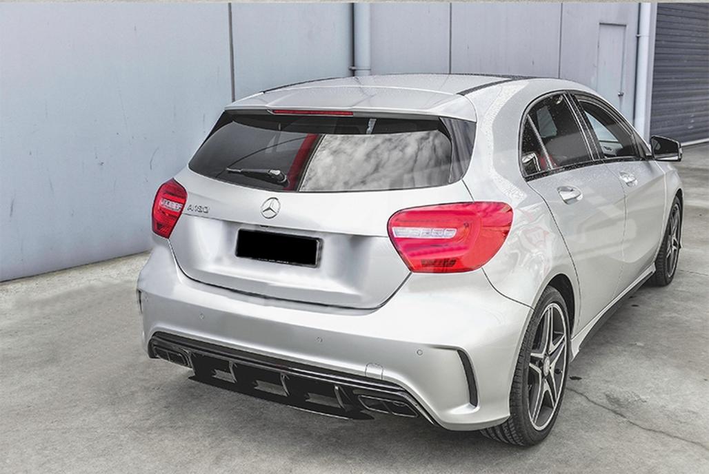 Difusor Trasero Para Mercedes W176 A