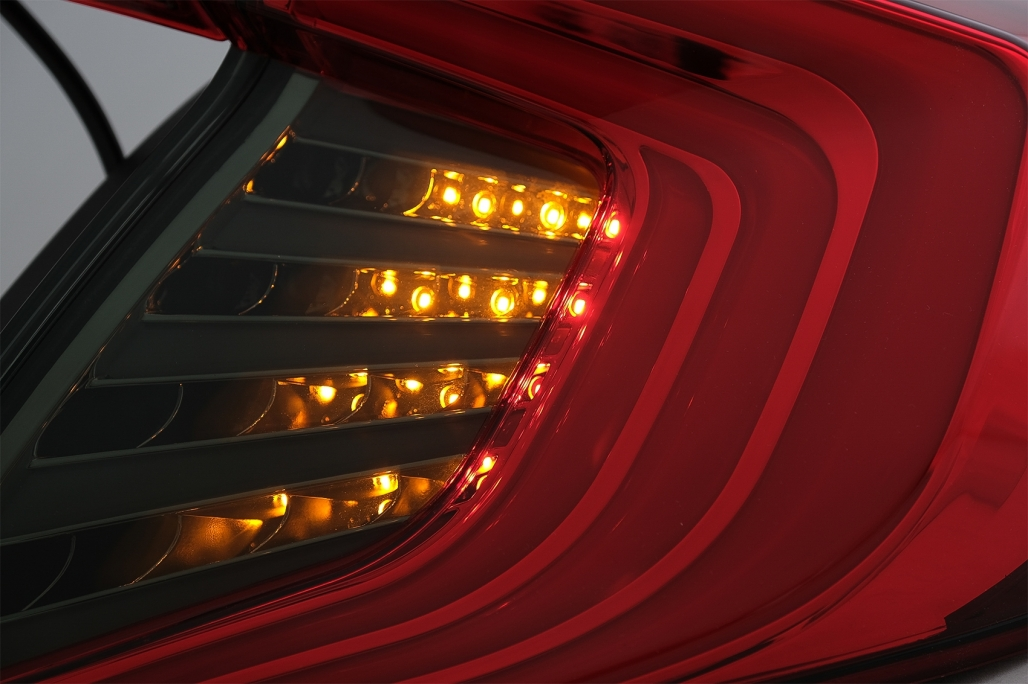 r ckleuchten f r honda civic mk10 fc fk 16 limousine led lichtleiste rot sch ebay. Black Bedroom Furniture Sets. Home Design Ideas