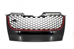 Badgeless Debadged Front Grill suitable for VW Golf 5 V (2003-2007) GTI Design - FGVWG5GTI