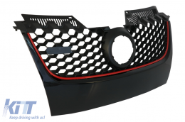 Badgeless Debadged Front Grill Volkswagen Golf 5 V (2003-2007) GTI Design