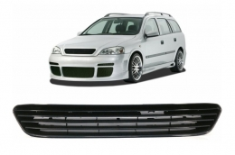 Badgeless Front Grill Central Grille suitable for OPEL Astra G (1998-2005) - GO01