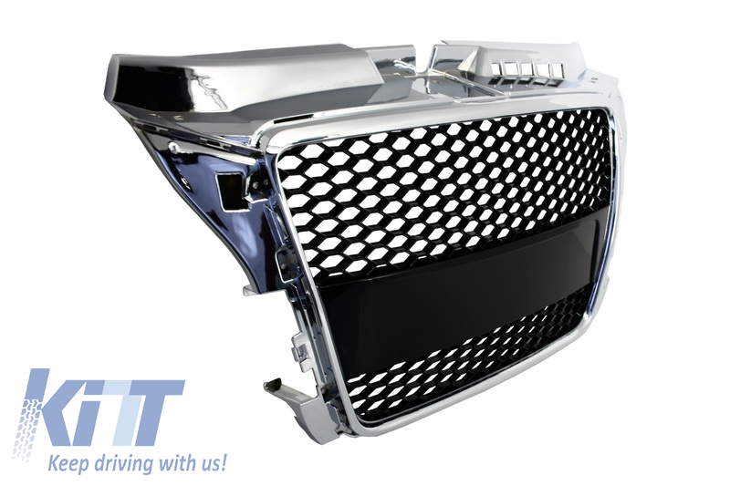 Badgeless Front Grille Audi A3 8P Facelift (2007-2012) RS ...