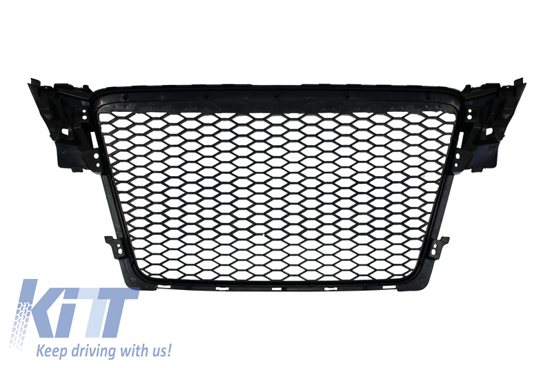 Badgeless Front Grille Audi A4 B8 2007 2012 Rs Design