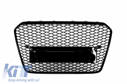 Badgeless Front Grille Audi A5 8T (2012-2015) RS Design - FGAUA58TFRSB