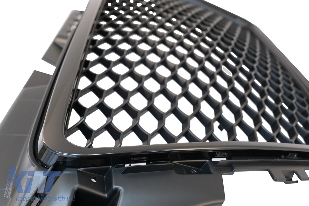 Badgeless Front Grille Suitable For Audi A3 8p Facelift
