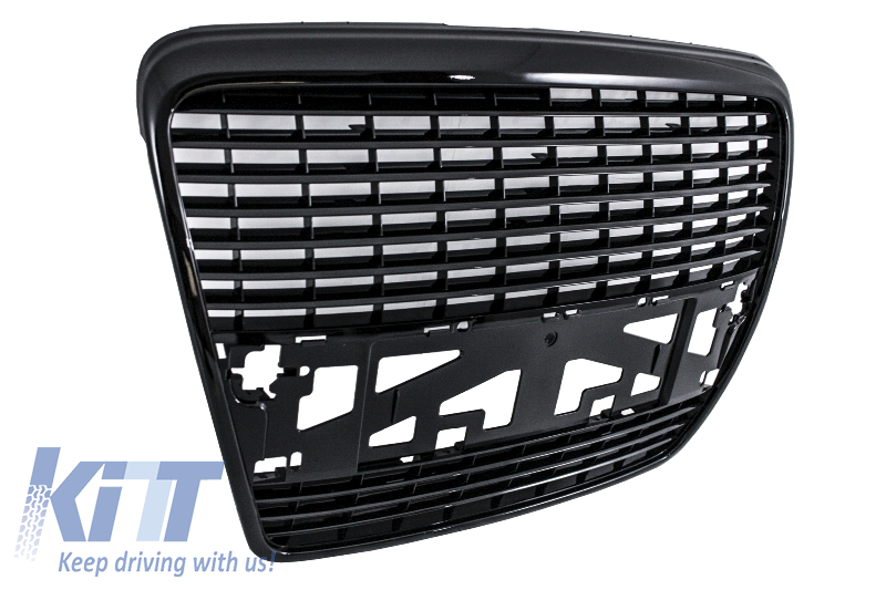 Badgeless Front Grille Suitable For Audi A6 4f 2004 2011