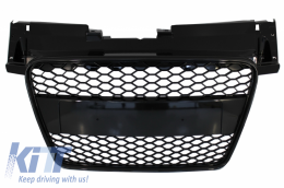 Badgeless Front Grille suitable for AUDI TT 8J (2006-2014) RS Design - FGAUTT8JRS