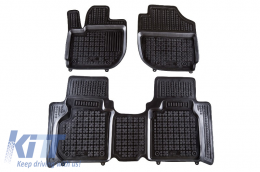 Black Floor Mats Rubber suitable for Honda HR-V II (2015-) - 200918