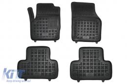 Black Floor Mats Rubber suitable for Land Rover Range Rover Evoque I L538 (2011-2014) L538 Facelift (2014-2018) - 202904