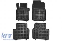 Black Floor Mats Rubber suitable for MAZDA 3 Hatchback BP (2019-up) CX30 (2019-up) - 200817