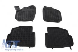 Black rubber mats Auto Press Seat Cordoba 02-09  Ibiza 02-08  sKODA FABIA 99-02-07  VOLKSAWAGEN POLO 02-09 - 200203