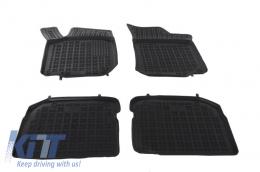 Black rubber mats Auto Press SEAT Leon (99-05) TOLEDO 99-04 SKODA Octavia 97-2010. Volkswagen Beetle, Bora 98-05 Golf IV 97-06 - 200201