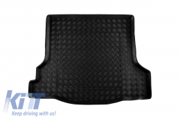 Black Trunk Mat without NonSlip suitable for RENAULT Dacia Logan II (2013-) - 101371