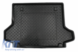 Black Trunk Mat without NonSlip suitable for Renault KOLEOS I (2008-2016) - 101349