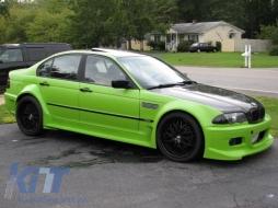 BMW 3 Series E46 Sedan (1998-2005) Door Moldings M3 Design