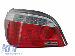BMW 5 Series LCI E60 (2007-2010) Left LED Taillight 63217177282 - 1224191