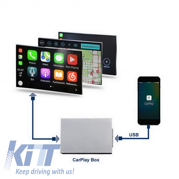BMW F10 F11 F20 F30 F32 F36 F01 X5 X6 NBT Car Play Android Auto suitable  for SMART Box