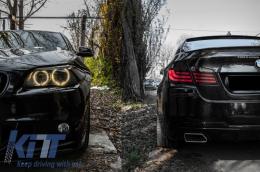 BMW X5 E70 2007+ Exhaust Muffler Tips Sport Performance Design - 06-8511