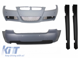 Body Kit BMW 3 Series Touring E91 LCI (2008-2011) M-Technik M-Sport M-Tech Design - CBBME91MTLCI