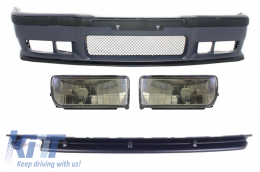 Body Kit BMW 3er E36 (1992-1997) M3 Design With Smoke Fog Lights  - COFBBME36M3D