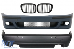 Body Kit BMW 5 Series  E39 (1997-2003) M5 Design with Central Grille Piano Black - CORBBME39M5PFG