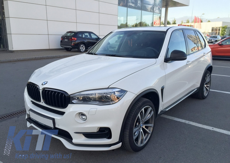 BMW X5 F15 Installation brackets for M Perfomance Carbon front lip spoiler