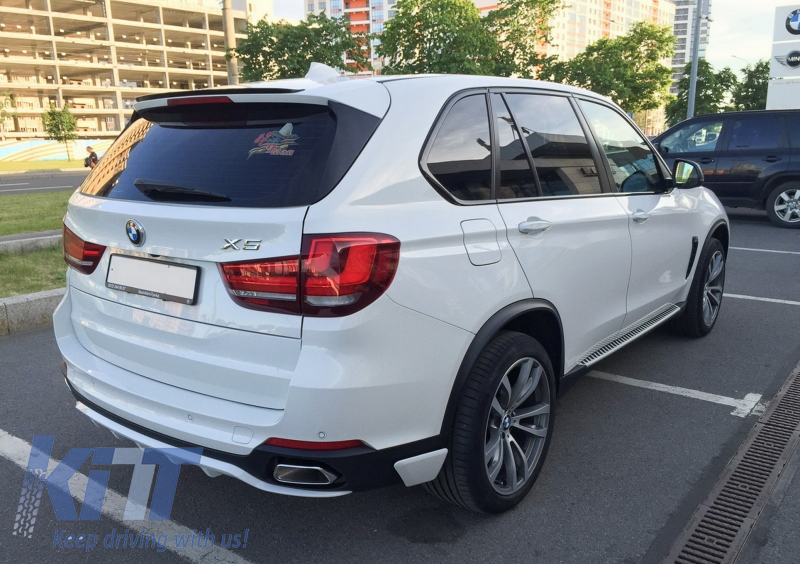 For BMW X5 F15 FRONT bumper PERFORMANCE AERODYNAMIC AERO SPOILER lip M Sport