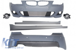 Body Kit M-Technik suitable for BMW E60 LCI (5-series) (2007-2010) with PDC 18mm - CBBME60MTPDC18