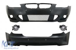 Body Kit M-Technik suitable for BMW E60 LCI (5-series) (2007-2010) with PDC 18mm - COCBBME60MTPDC18PX