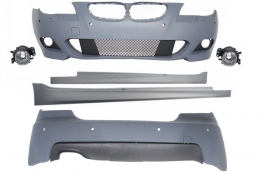 Body Kit M-Technik suitable for BMW E60 (5-series) (2003-2007) With PDC 24mm - CBBME60MTPDC24