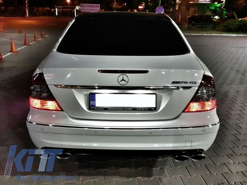Body kit mercedes benz e class w211 2002 2009 e63 amg look for Mercedes benz tuning parts