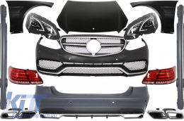 Body Kit Mercedes Benz W212 E-Class Pre Facelift (2009-2013) E63 AMG Design - COCBMBW212FAMGC