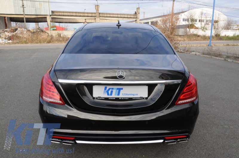 Body kit mercedes benz w222 s class 2013 up s65 amg design for Mercedes benz tuning parts