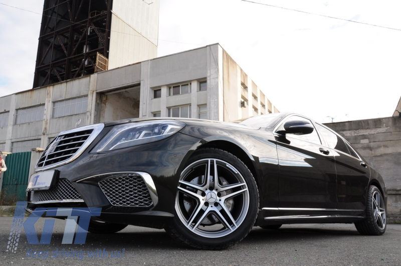 Body kit mercedes benz w222 s class 2013 up s65 amg design for Mercedes benz s550 car cover