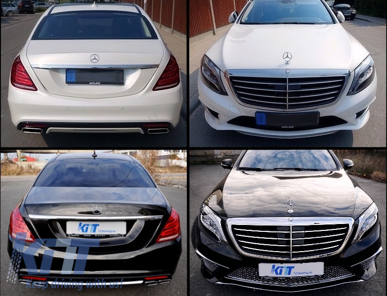 Body kit mercedes benz w222 s class 2013 up s65 amg for for Looking for mercedes benz parts
